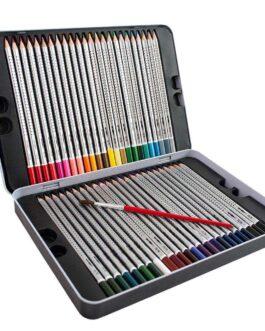 Vesivärvi Pliiats / Akvarellitav Värvipliiats 48 värvi + pintsel