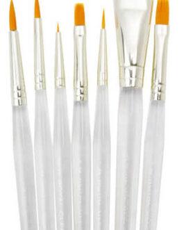 Pintslikomplekt 7 Pintslit Clear Choice