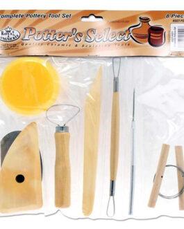 8tk. Tööriistade Komplekt Savi Töötlemiseks
