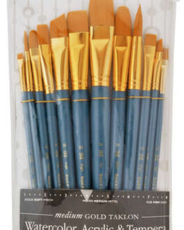 Pintslite komplekt sünteetiline 12tk Gold Taklon Royal & Langnickel