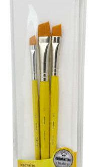 Pintsel Komplekt 3tk Viltune Gold Taklon nr6,10,13mm