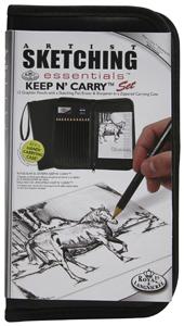 Eskiisikomplekt Pinalis  Royal & Langnickel Keep N Carry Sketching Sete