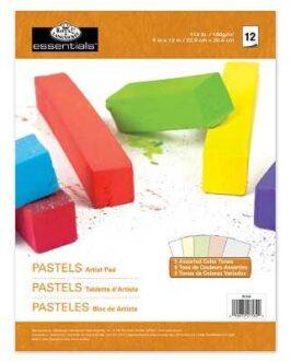 Pastellpaberi Plokk 5 Värvi 12 Lehte