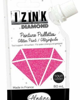 Aladine dekoorvärv Diamond 80ml fuksia