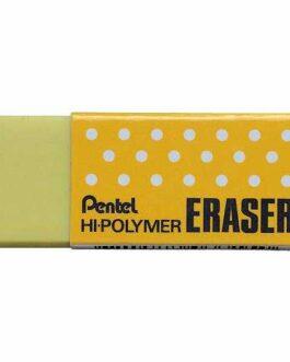 Kustukumm Pentel Hi-Polymer Kollane