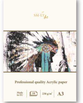 Akrüülipaberi plokk A4 420g 10 lehte