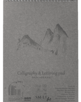 Kalligraafia ja kirjaplokk A4 100g 50l.