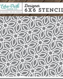 Šabloon ECO PARK Quilted Stitch 15,4×15,4cm