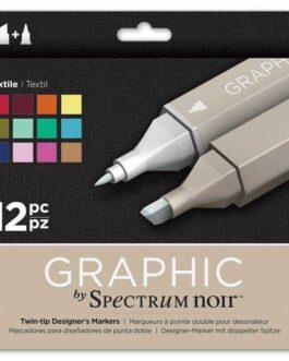 Marker Spectrum Noir Graphic 12tk.(Tex)