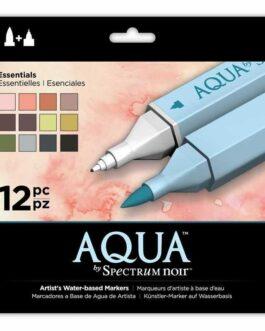 Marker Spectrum Noir Spectrum Aqua Essentials (12 tk)