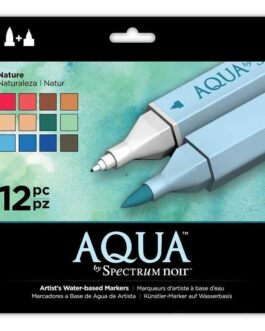 Marker Aqua By Spectrum Noir – Nature (12tk)