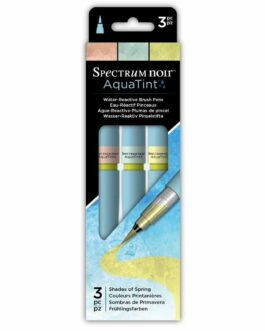 Marker Spectrum Noir Spectrum Aquatint Pen Shades Of Spring (3pc) (specn-aqtnt-spi3)