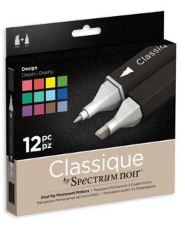 Marker Spectrum Noir Classique (12tk) – Design