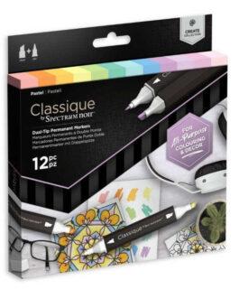 Marker Spectrum Noir Classique (12tk) – Pastel