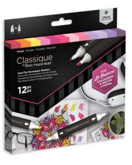 Marker Spectrum Noir Classique (12tk) – Floral