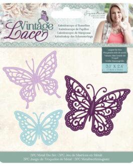 Lõiketera Vintage Lace Liblikad