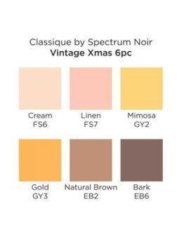 Marker Spectrum Noir Classique 7tk – Vintage Xmas