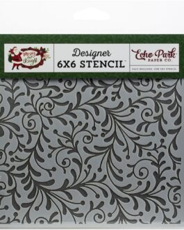 Šabloon ECO PARK  Festive Flourish 15,4×15,4cm