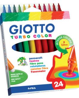 Viltpliiats Giotto Turbo Color 24 Värvi