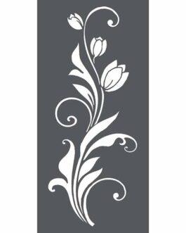 Šabloon 12x25cm Tulip Decoration