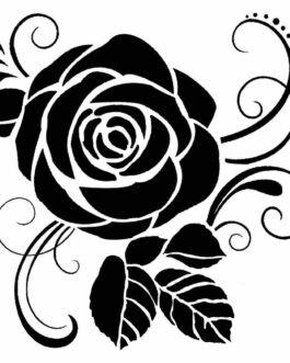 Šabloon ROOS 18x18cm