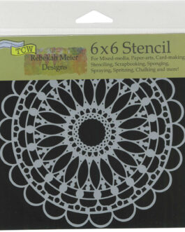 Šabloon MANDALA 15x15cm