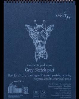Eskiisiplokk Authentic Grey A4 180g.30l.